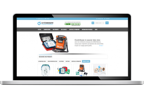 Boutique en ligne : Cardio secours